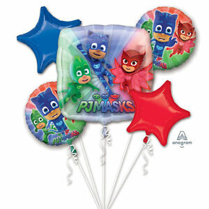 Image Is Loading Anagram PJMASKS Happy Birthday Party Favor 5 Foil