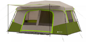 Ozark-Tr-11-Person-Family-Camping-Large-Tent-Outdoor-Instant-Pop-up-Cabin-3-Room