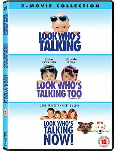 Look Who's Talking 1-3 Movie Collection [DVD][Region 2]