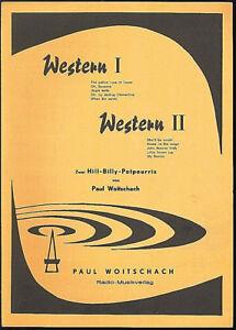 034-Western-I-034-034-Western-II-034-Zwei-Hill-Billy-Potpourris-von-Paul-Woitschach