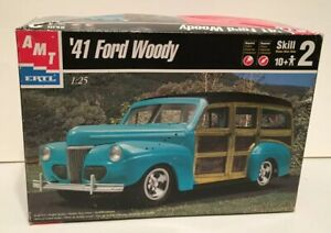 AMT-ERTL-039-41-Ford-Woody-From-Kit-30052-Classic-Parts-Kit-Only-1-25-Scale-PK102