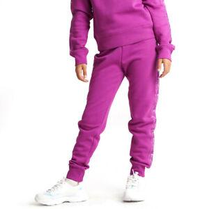 Champion Kids Girls Rib Cuff Pants Athletic Casual Fashion Purple 404270-VS075