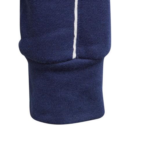 adidas Kinder Core 18 Hoodie Kapuzenpullover dunkelblau CV3430