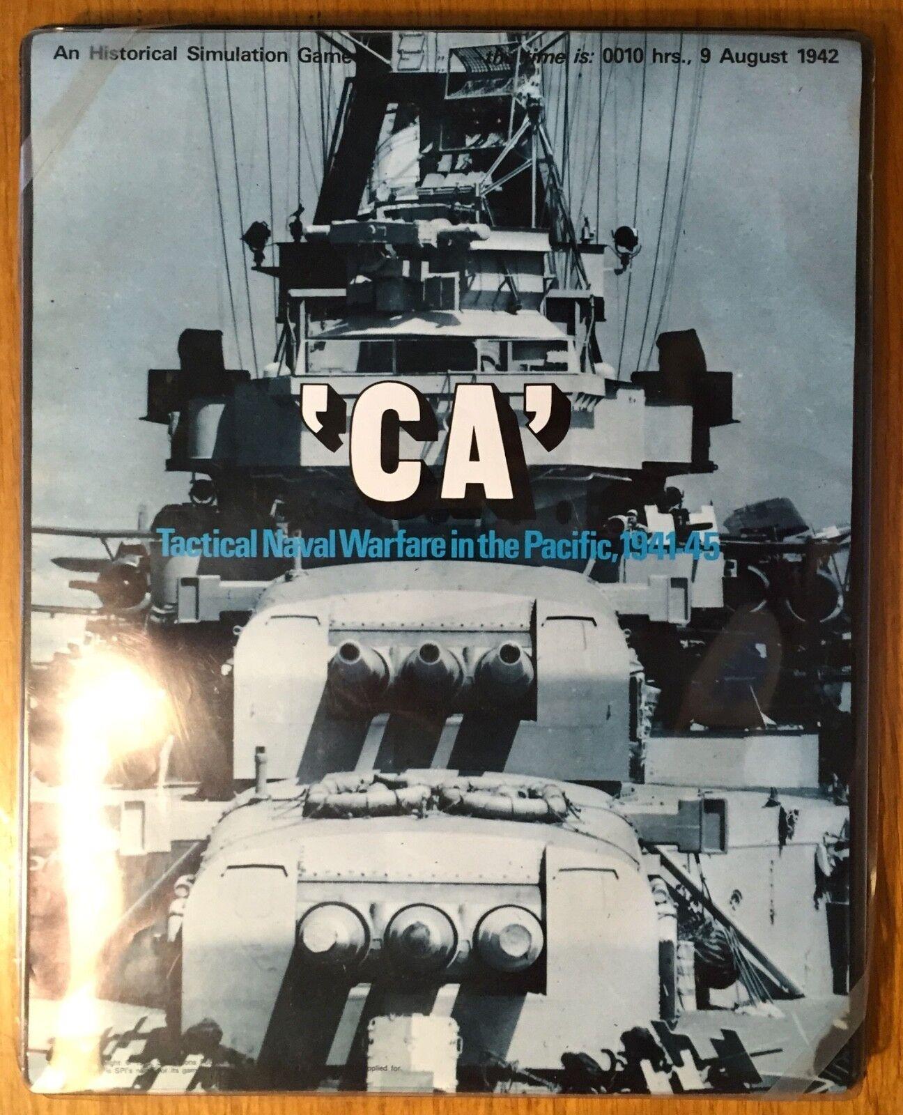 'CA' - SPI 1973 - Ottime condizioni – PUNCHED