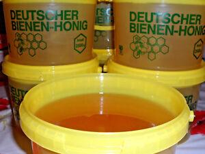 2,5 kg Honig Bienenhonig Sommertracht Blütenhonig flüssig