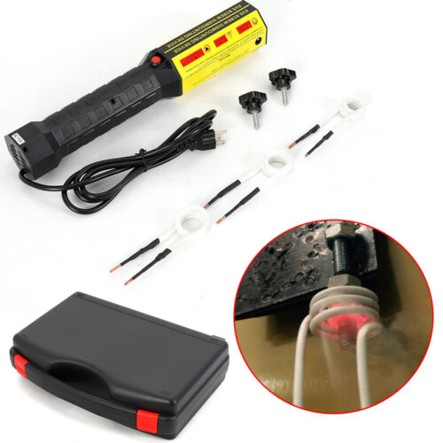 1000W Mini Ductor Magnetic Induction Heater Kit Automotive Flameless Heat 110V