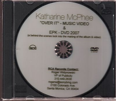 Katharine Mcphee Over It Video Epk Dvd Electronic Press Kit Ebay