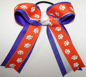 Personalized Embroidered Volleyball Ponytail Streamers
