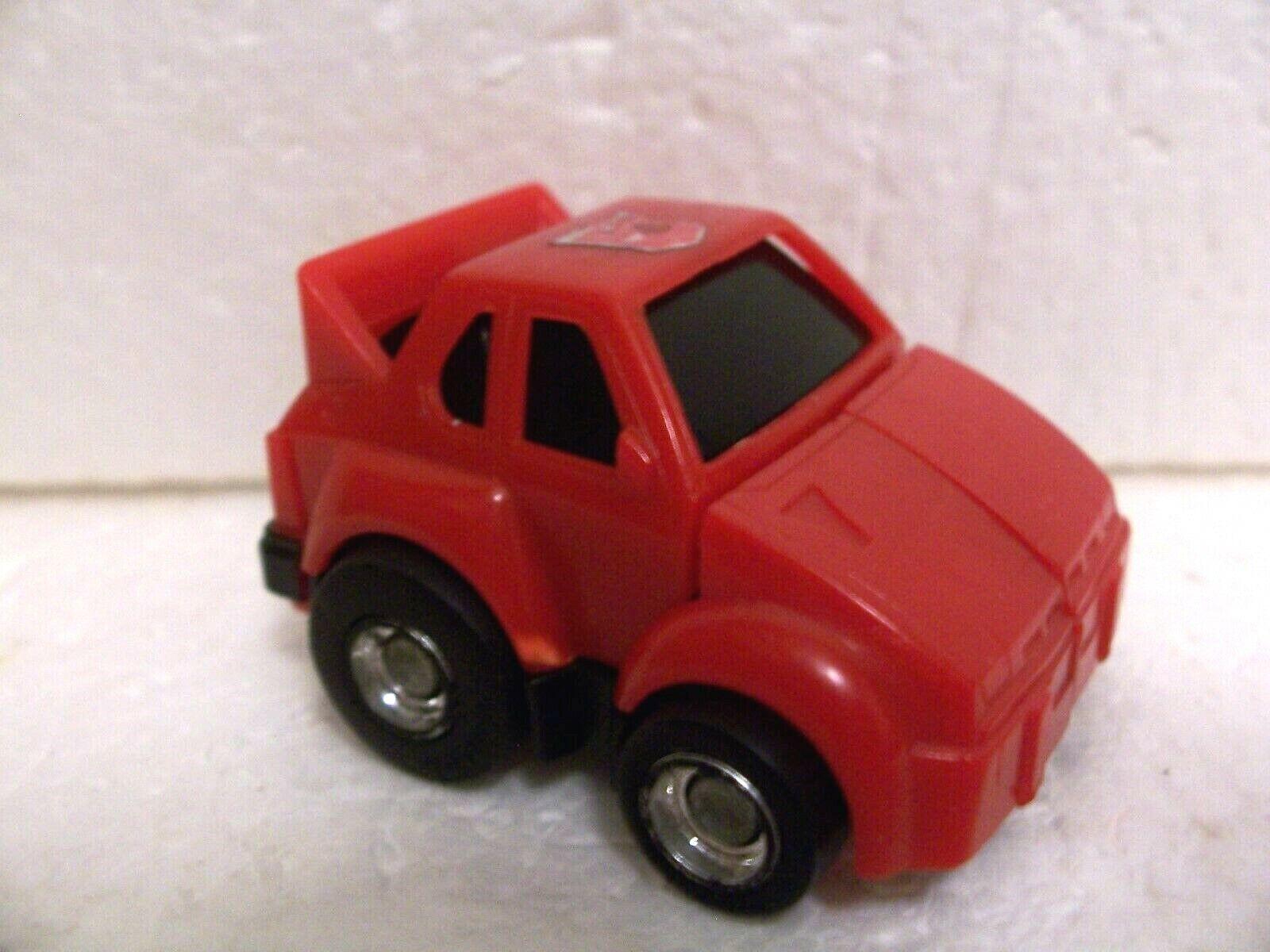 G1 vintage RED Cliffjumper pre-rub variant minibot lot part Diaclone