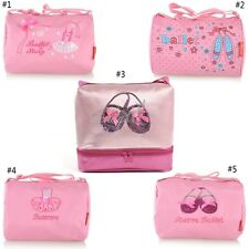 item 2 Pink Gymnastics Girls Ballet Shoe Embroidered Tote Duffel Duffle Bag  Rhinestone -Pink Gymnastics Girls Ballet Shoe Embroidered Tote Duffel  Duffle Bag ... 91eddccb78e85