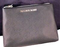 Elegant 7 Victoria Secret Vs Cosmetic Makeup Clutch Bag Purse Black
