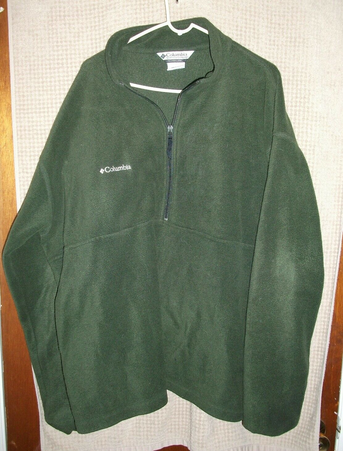 Columbia Sportswear Mens 1 2 Zip Fleece Sweater Size XXL