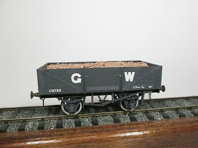 7mm O Gauge Kit Built Gwr 12t Open Wagon 3730