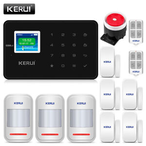 KERUI-GSM-Burglar-Motion-Detector-Wireless-Work-With-Home-Security-Alarm-System