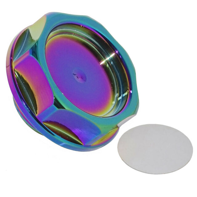 CNC Oil Filler Cap Cover Neo Chrome For HONDA ACURA Civic