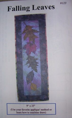"""Falling Leaves"" Quilts 'n Stuff Applique Quilt Kit by Glenna"