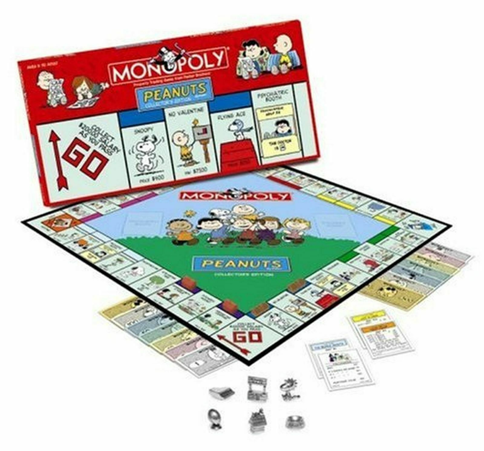 Peanuts Monopoly GameCollector's Limited Edition 2002Sealed