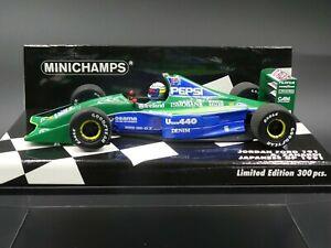 Minichamps-1-43-Alex-Zanardi-Jordan-191-Japanese-GP-F1-1991-only-300-pcs-new