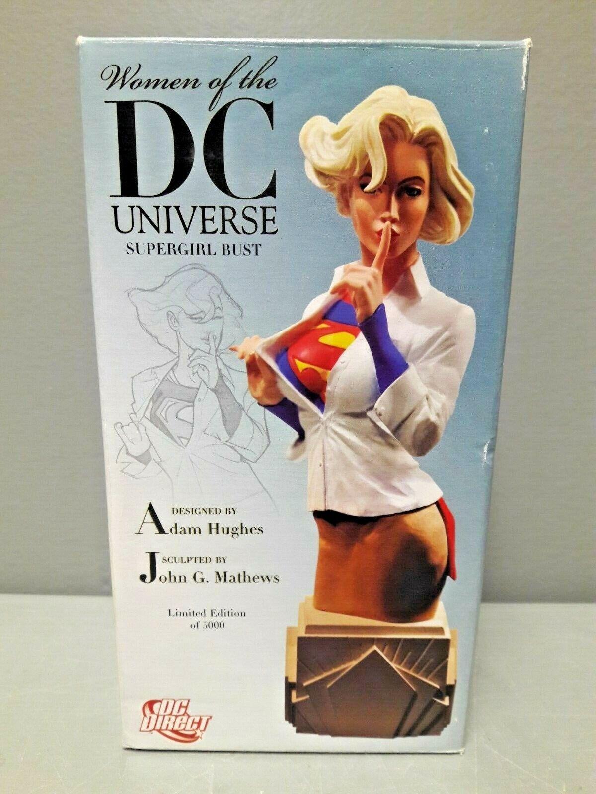 DC Mujeres de la DC Uinverse DIRECT súpergirl Busto Edición Limitada Adam Hughes