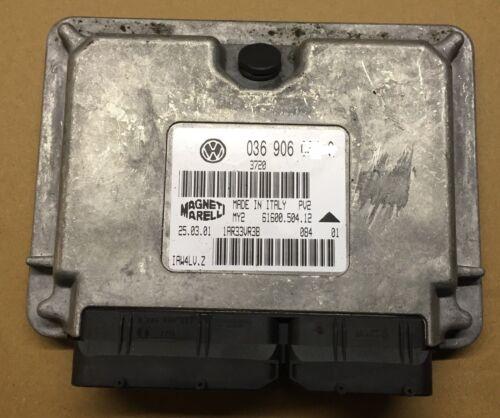 AUDI A2 2000-2005 1.6 FSI BAD ENGINE CONTROL UNIT ECU 036 906 013F 036906013F