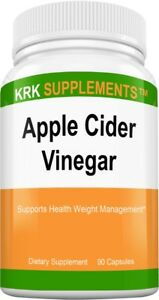 Apple Cider Vinegar 1000mg per serving 90 Capsules