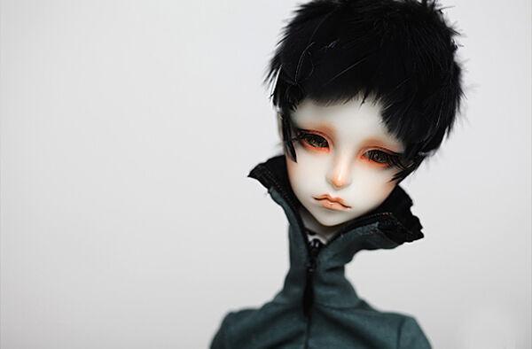Envío Gratis BJD SD niño Douglas 1 4 Muñeca Modelo Reborn libre del ojo y frente
