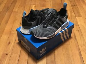 6337207fb815f Image is loading ADIDAS-ORIGINALS-NMD-R1-CIRCA-KNIT-BLUE-GREY-