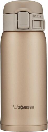 Zojirushi Sm-Se36-Nz Stainless Bottle 0.36L Warm-Cold Beige Gold Japan
