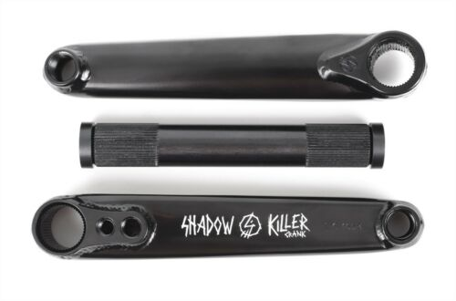 SHADOW CONSPIRACY KILLER manivelles vélo bmx fit SUBROSA SE HARO CULT 175 mm Noir