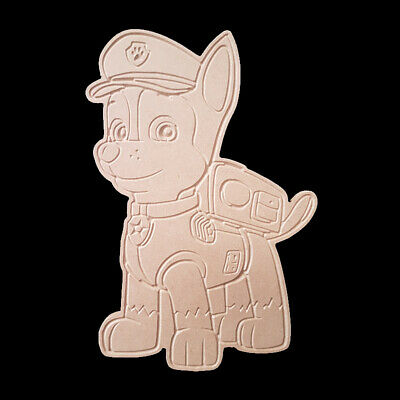 DIY PAINTABLE MDF CRAFT CARTOON CHARACTERS PAW PATROL CHASE