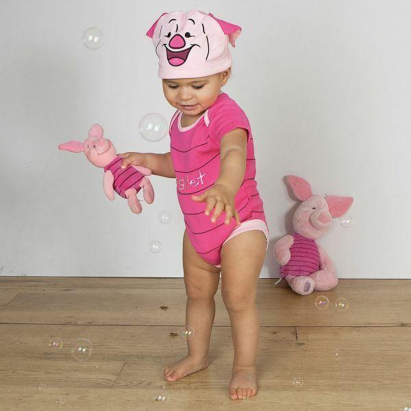 9-12 months Minnie Mouse Pink Bodysuit By Travis Disney Baby