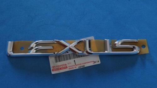 10 11 Lexus Gs350 Oem New Chrome Emblem Rear Trunk Word