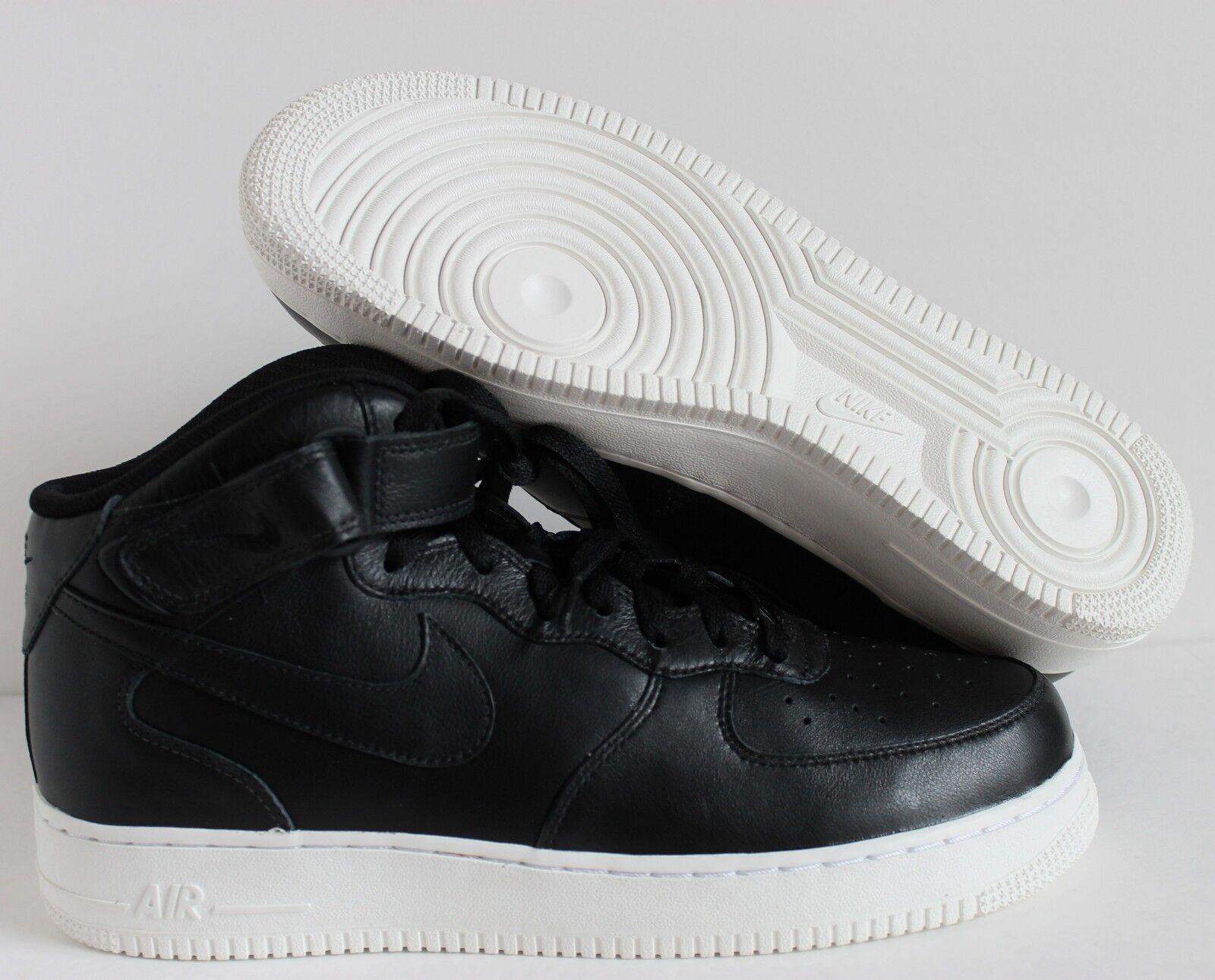 Nike alta Hombres Force 1 alta Nike ID Negro Air-Blanco [808788-991] d183dd
