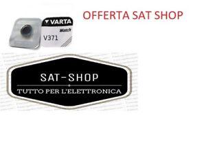 VARTA-BATTERIA-PILA-1-55-V-V371-SR920SW-PER-OROLOGIO-BOTTONE-TAMPONE-OROLOGI