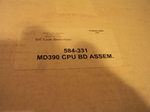 VIC Leak Detection MD-390 CPU Board Assembly 584-331 New in Sealed Box