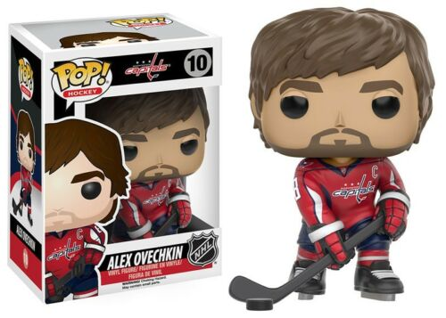 Sports Alex Ovechkin Vinyl Figure #10 NHL Washington Capitals Funko POP