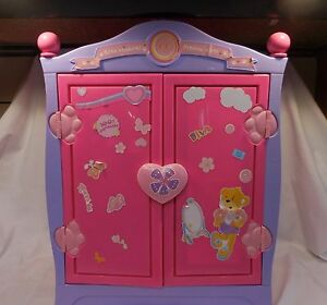 Build A Bear Beararmoire Fashion Case Closet Wardrobe Case Armoire Pink  Purple