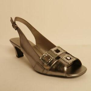 Lotus Zanchi Pelle Da Donna Tacco Medio Sandali Con Cinturino Alla Caviglia