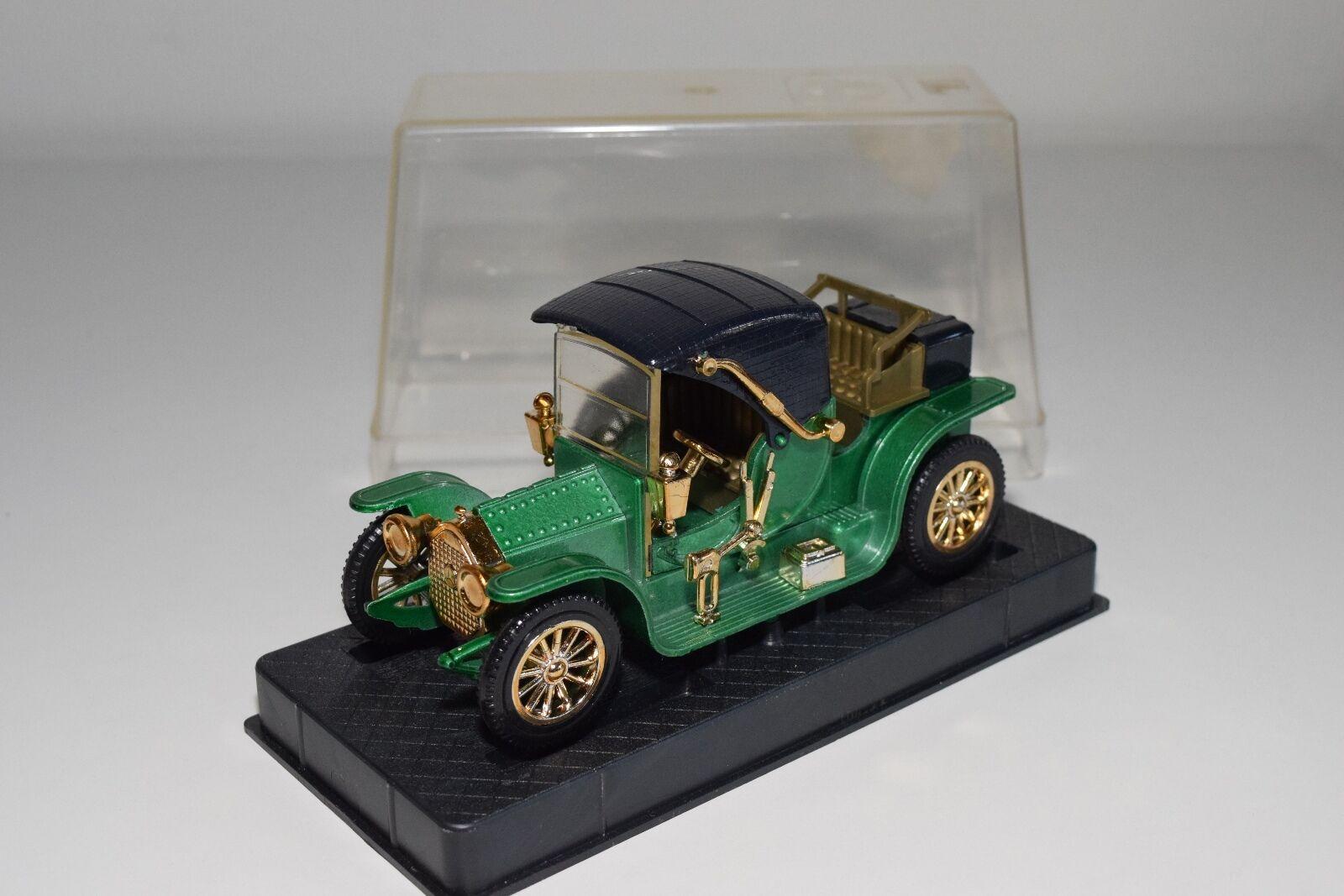 + NACORAL 3808 MERCEDES BENZ 1905 METALLIC vert MINT BOXED RARE SELTEN