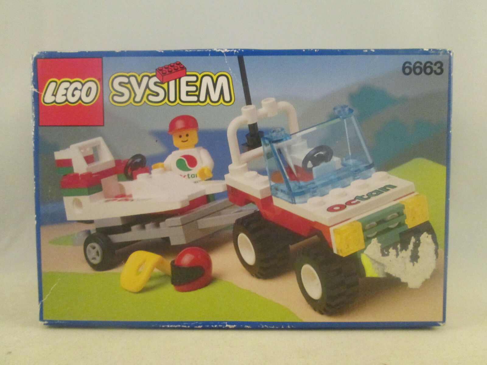 consegna gratuita e veloce disponibile Lego classeic classeic classeic Town - 6663 Octan Wave Rebel nuovo SEALED  ordinare on-line