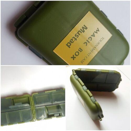 9,5X6,5X2,8cm marca Mustad FC.S1 1 Magic box porta ami e girelle