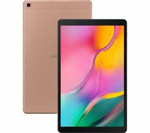 """SAMSUNG Galaxy Tab A 10.1"""" Tablet (2019) - 32 GB Gold - Currys"""