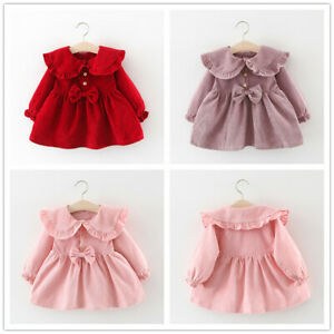 Toddler Baby Girl Fall Clothes Long Sleeve Coats Zipper Jackets Lace Princess Outfits Simple Thin Outerwear