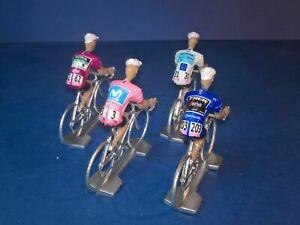 Lot-de-4-cyclistes-Giro-d-039-Italia-2019-Maillots-des-vainqueurs-Cycling-figure