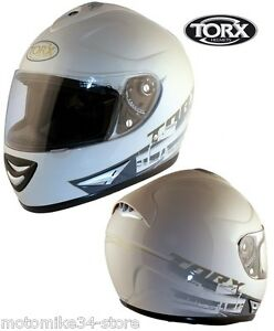 CASQUE-INTEGRAL-HOMOLOGUe-CE-MOTO-SCOOTER-BLANC-TAILLE-XS-53-54CM