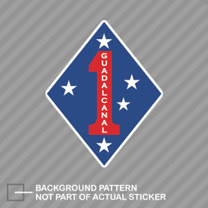 1st-Marine-Division-Insignia-Sticker-Decal-Vinyl-USMC-1st-marines-corps-semper