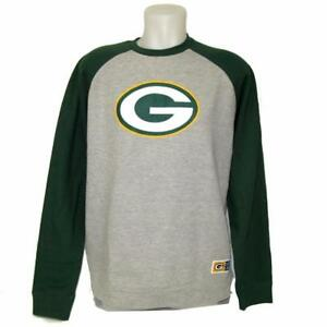 244350ad New NFL Men's Green Bay Packers Sweatshirt Large-2X Football Team ...