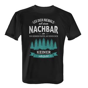 Details Zu Nachbar Herren T Shirt Fun Shirt Spruch Einzug Richtfest Nachbarschaft Lustig