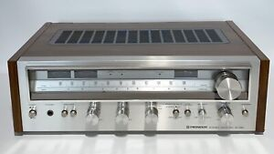 Vintage Pioneer Stereo Receiver SX-580 Works Great