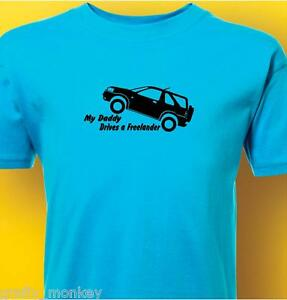 Kids-034-Freelander-034-Land-Rover-T-Shirt